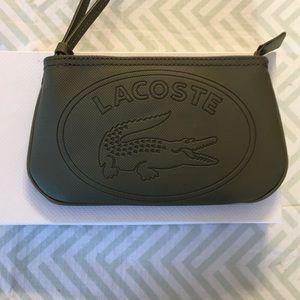 Lacoste Wristlet - Dark green